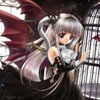 Demon Bat Anime Girl