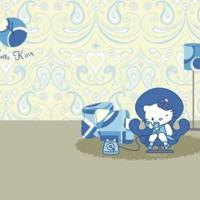 Hello Kitty Blue Room