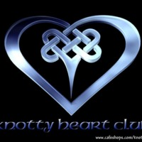 Knotty Heart Club Celtic Heart Logo