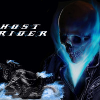 Ghost Rider Blue Flames