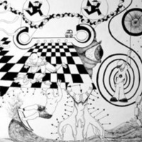 Black & White Checkers & Sketches