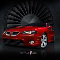 Red Pontiac GTO
