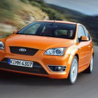 Orange Ford Focus ST