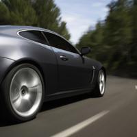 Steel Grey Jaguar XKR