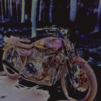 Psychadelic Badass 1974 Bike