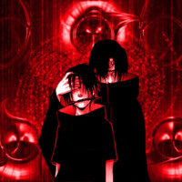 Sharingan Sasuke/Itachi Red & Black