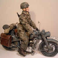 Custom World War II action figures