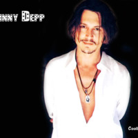 Johnny Depp in White