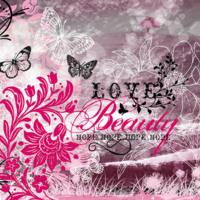 Love, Beauty & Hope Butterflies & Flowers