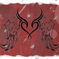 Tribal Heart with Wings