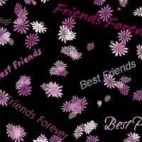 Purple Flower Friends