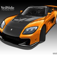 Orange & Black RX7