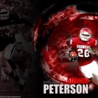 Oklahoma Sooners Adrian Peterson