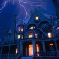 Blue Haunted House