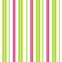 Lime Green, White & Hot Pink Stripes
