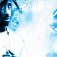 Tupac in Blue & White