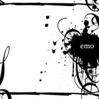 Emo Black Swirls