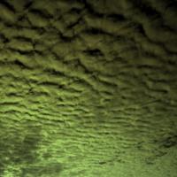Dark Grey Green Clouds