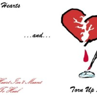 Broken hearts/torn up letters