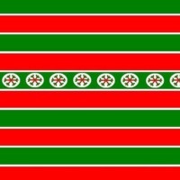 Red & Green Striped Christmas Paper