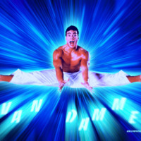 Jean Claude van Damme w/ Blue Light