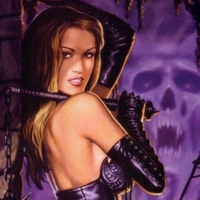 Vampiress in Purple