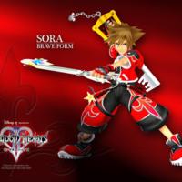 Kingdom Hearts SORA Brave Form