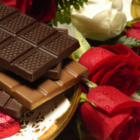 Roses & Chocolate Valentine