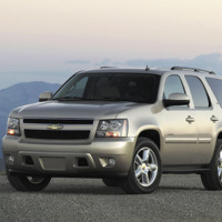 Silver Chevrolet Tahoe