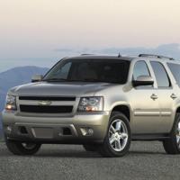 Silver Chevrolet Tahoe