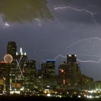 Thunderstorm in Big D