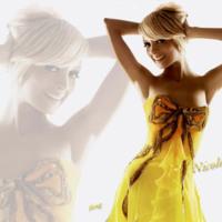 Nicole Richie in Yellow