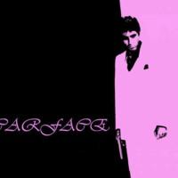 Scarface Pink & Black