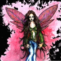 Pink Winged Teen Fairy