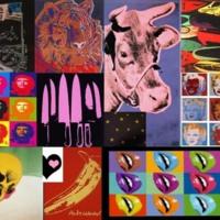 Colorful Warhol Photos