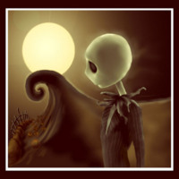 Jack Skellington in Sepia