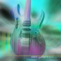 Pastel Electric Guitar