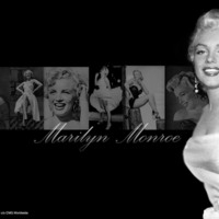 Marilyn Monroe Montage in Black & White