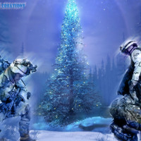 Blue Soldiers Christmas