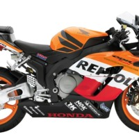 Orange CBR Repsol Bike