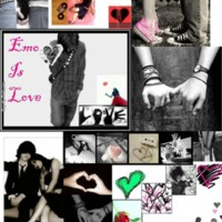 Emo is Love Collage