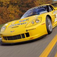 Yellow 2005 Chevrolet Corvette