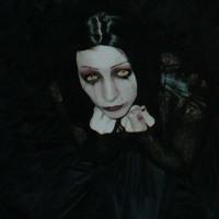 Bloody Tears Goth Girl
