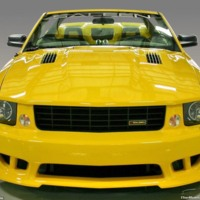 Yellow Mustang Saleen