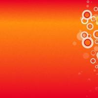 Orange & Red Fade Circles