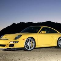 Yellow Porsche 911 GT3