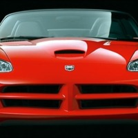 Red Dodge Viper