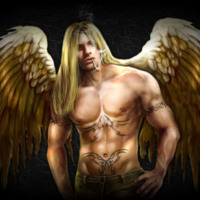 Long Haired Hunk Angel