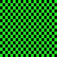 Black & Green Checkers
