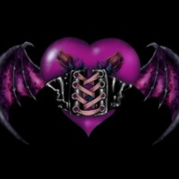 Dark Winged Corseted Heart